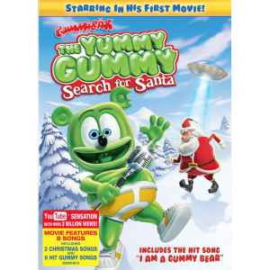 Yummy Gummy Christmas DVD Cover