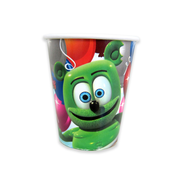 Gummibär Paper Party Cups