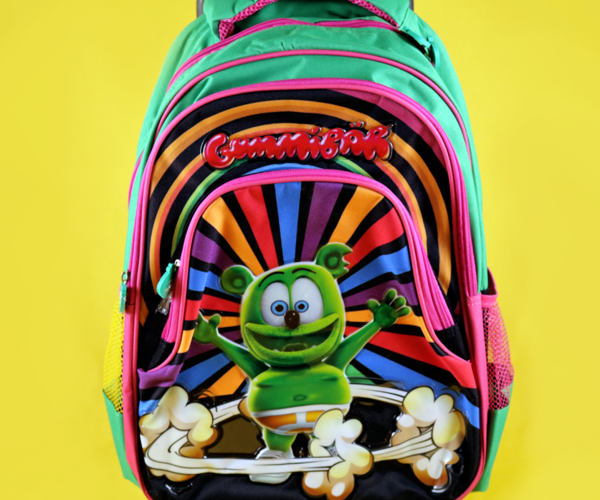 Gummibär Rolling Backpack