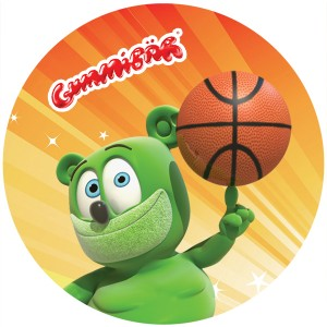 Gummibär Basketball Sticker