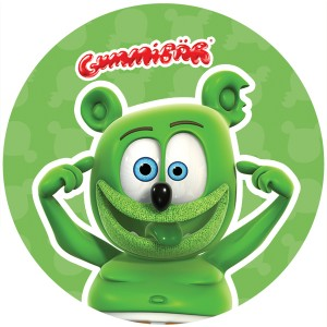 Crazy Gummibär Sticker