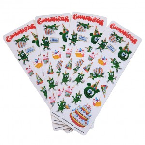 Gummibar Birthday Strips 900
