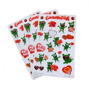 Gummibär Valentine's Day Sticker Sheets
