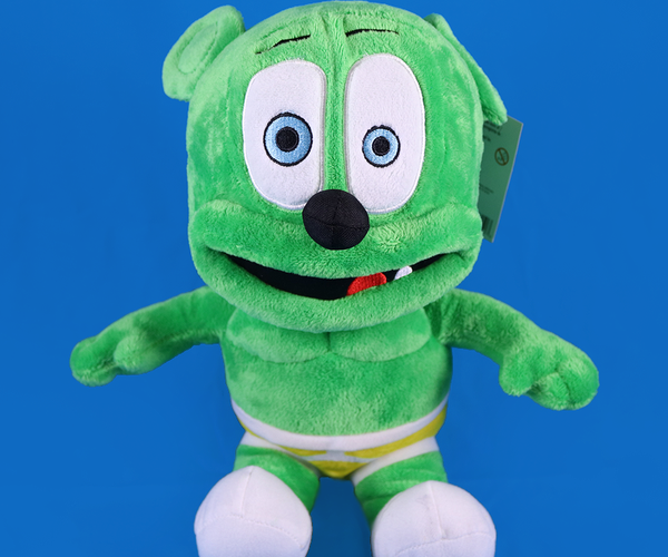 "12"" Sitting Gummibär Plush Toy"