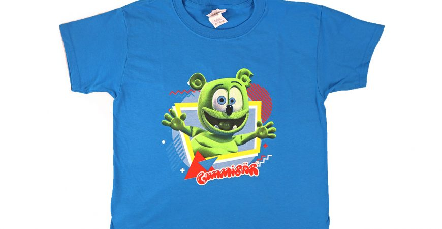 new gummibar t-shirt adults kids apparel clothing for childrens cartoon character youtube animated animation web series show youtube shirts clothing