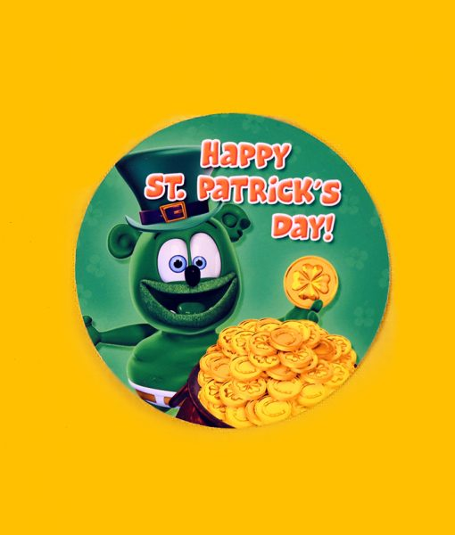 pot o gold sticker gummibar the gummy bear