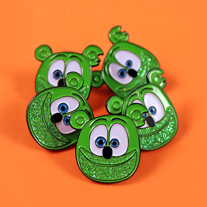 Gummibär (The Gummy Bear) Enamel Pin 5-Pack