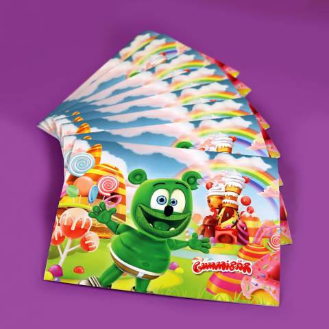 Gummibär (The Gummy Bear) Note Cards