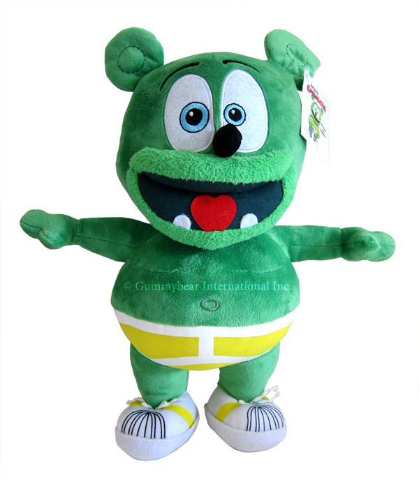 "Gummibär (The Gummy Bear) 14"" Singing Plush Toy"