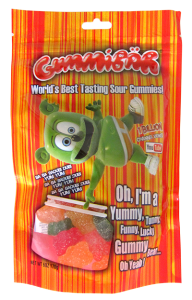 sour gummy candy 400