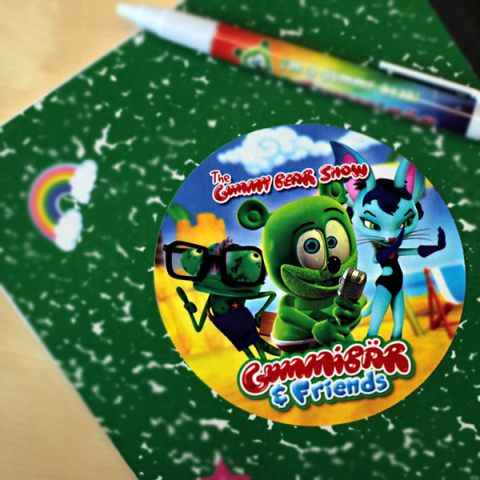Gummibär & Friends: The Gummy Bear Show Sticker