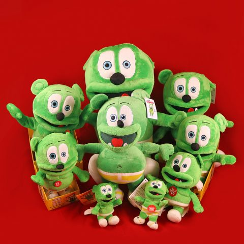 holiday collectors plush gummibar bundle toys for kids the gummy bear song i am a gummybear the gummy bear show childrens cartoon character christmas gifts