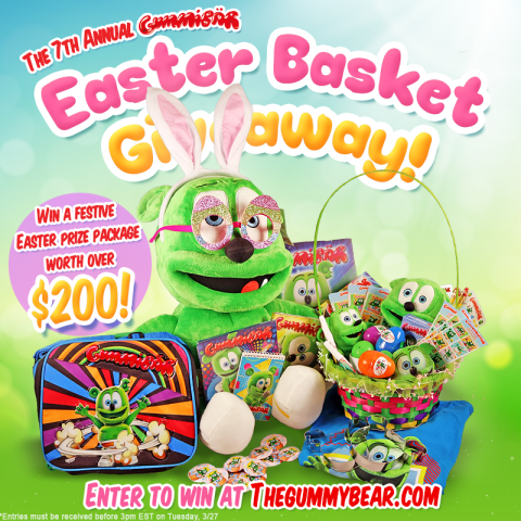 seventh annual gummibar easter basket giveaway the gummy bear song