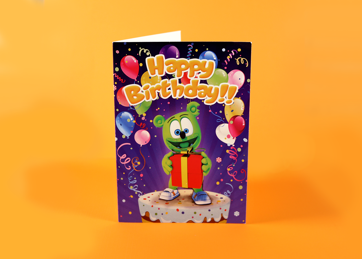 Gummibär (The Gummy Bear) Birthday Cards
