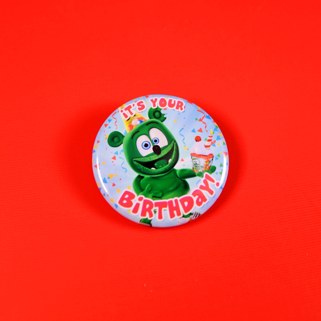 Gummibär (The Gummy Bear) It's Your Birthday! Button